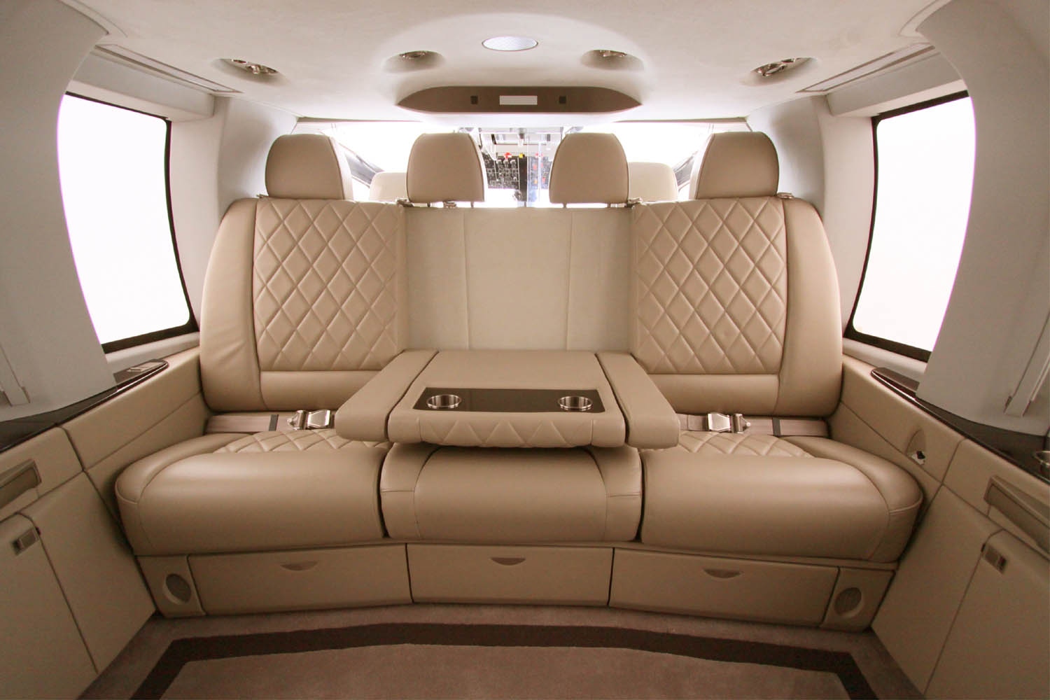 Differences Between Comfort And VIP Helicopter Interiors